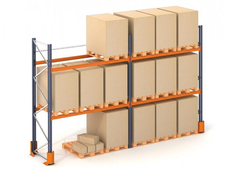 Estanter a mecalux segunda mano oferta maquinaria ja n - Soportes de estanterias ...