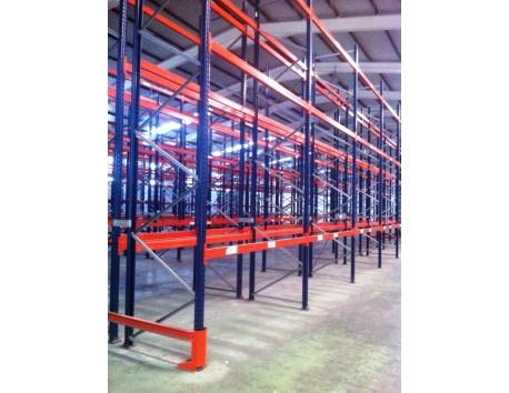 Ocasión de estanterías industriales - Segunda mano